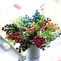 Искусственные ягоды и добавки к букету и композиции