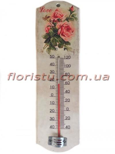 Термометр Прованс Розы Love 26/7 см