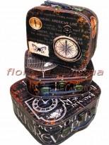 Набор декоративных чемоданчиков Винтаж 3 шт.