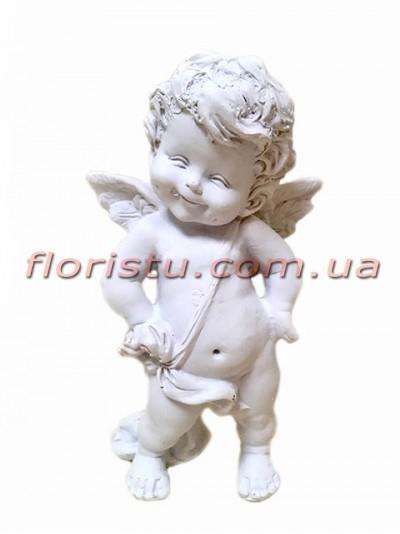 Ангел фигура из полистоуна 16 см №1