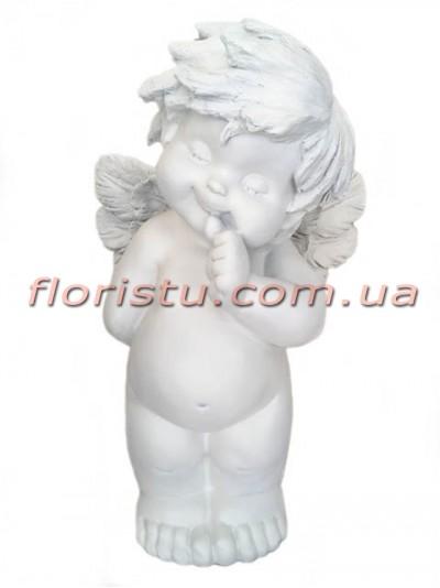 Ангел фигура из полистоуна 60 см