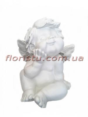 Ангел фигура из полистоуна 40 см №1