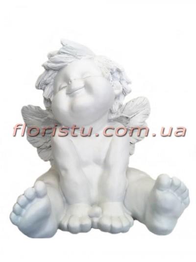 Ангел фигура из полистоуна 40 см №2