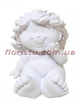 Ангел Купидон фигурка из полистоуна 10 см №2