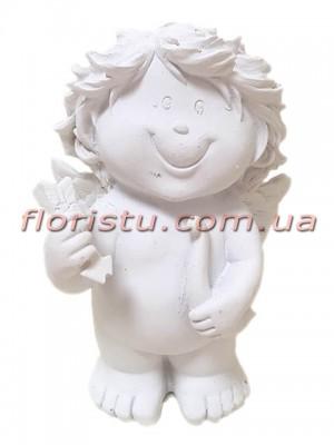 Ангел Купидон фигурка из полистоуна 12 см №1