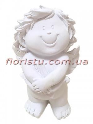 Ангел Купидон фигурка из полистоуна 12 см №2