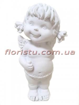 Ангел Девочка фигурка из полистоуна 14 см