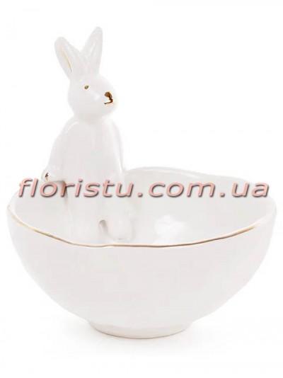 Керамическая пиала с фигуркой Кролика 250 мл