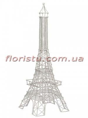 Декоративная статуэтка Эйфелева башня Белая 51 см