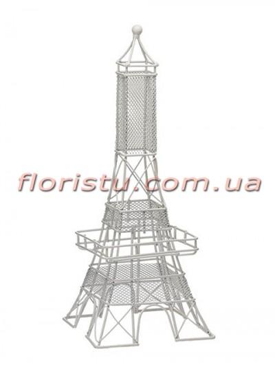 Декоративная статуэтка Эйфелева башня Белая 31 см