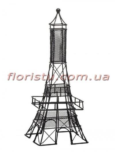 Декоративная статуэтка Эйфелева башня Черная 31 см