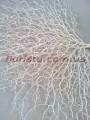 Коралл искусственный веерной формы Белый 55 см