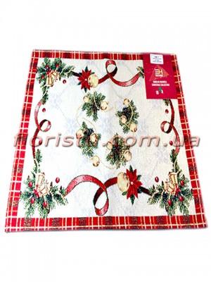 Новогодняя гобеленовая салфетка EMILY HOME 35*45 см №2