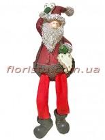Новогодняя фигурка из полистоуна Санта 26 см