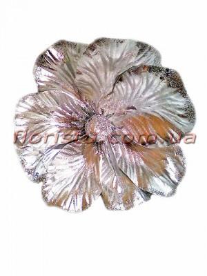Магнолия новогодняя премиум Серебро 18 см