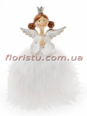 Декоративная фигурка полистоун Принцесса Ангел 16 см