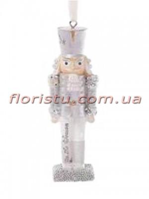 Подвесной новогодний декор Оловянный солдатик 11 см №1