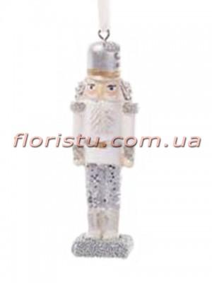 Подвесной новогодний декор Оловянный солдатик 11 см №2