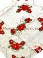 Новогодняя гобеленовая скатерть EMILY HOME 140*180 см №8