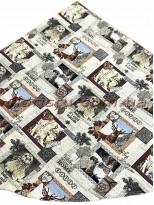Гобеленовая скатерть EMILY HOME WINTER круглая 180 см