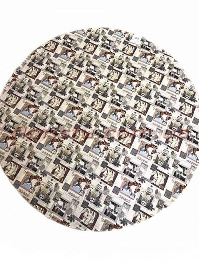 Гобеленовая скатерть EMILY HOME WINTER круглая 200 см