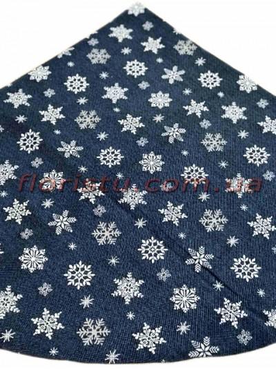 Гобеленовая скатерть EMILY HOME SNOW круглая 180 см