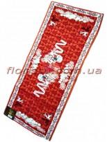 Новогодняя гобеленовая скатерть-раннер EMILY HOME 45*140 см №4