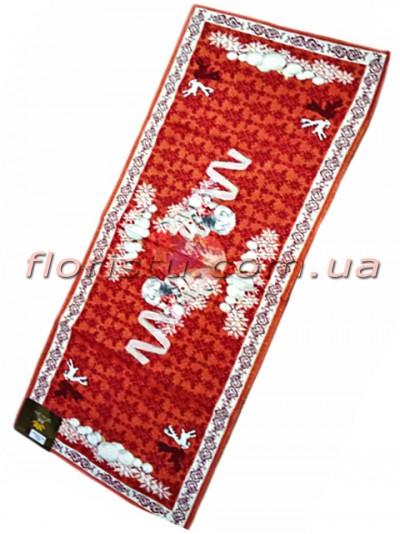 Новогодняя гобеленовая скатерть-раннер EMILY HOME 40*100 см №4