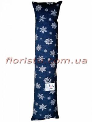 Гобеленовая подушка валик EMILY HOME SNOW 20*100 см