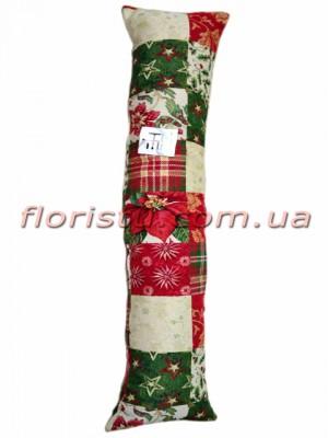 Гобеленовая подушка валик EMILY HOME FANCY 20*100 см