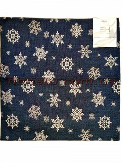 Гобеленовая скатерть EMILY HOME SNOW квадрат 90*90 см