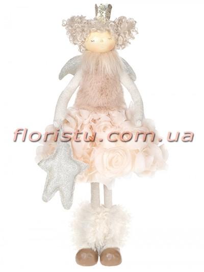 Новогодняя фигура Принцесса Ангел 50 см