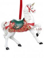 Декоративная подвесная фигурка Единорог 11 см