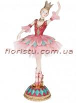 Декоративная статуэтка Балерина в короне 23 см