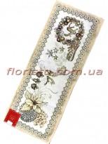 Новогодняя гобеленовая скатерть-раннер EMILY HOME 35*100 см №02