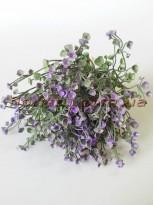 Добавка флористическая дымчато-фиолетовая пучок 10 шт. 28 см