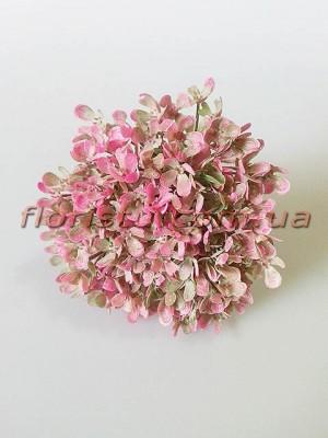 Добавка незабудка пластик дымчато-розовая пучек 10 шт. 18 см