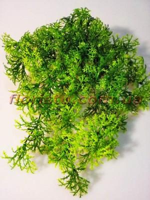 Водоросль искусственная подвесная Зеленая 30 см