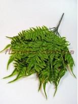 Папоротник нефролепсис премиум Зеленый 45 см