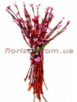 Веточки с тычинками искусственные Розовые 50 шт.