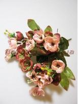 Сакура Винтаж с ягодами бордо гол. 3 см