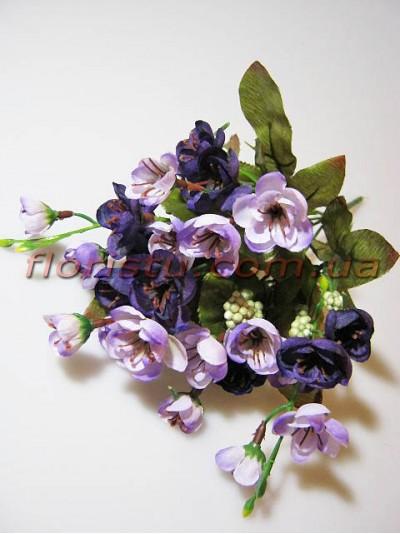 Сакура Винтаж с ягодами фиолет гол. 3 см
