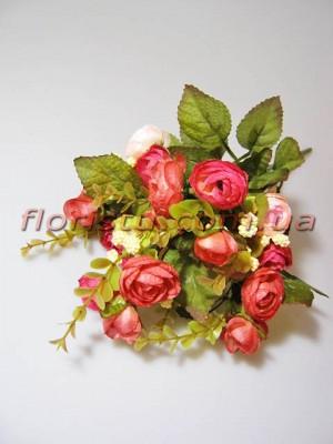 Букет камелий премиум розовых гол. 3 см