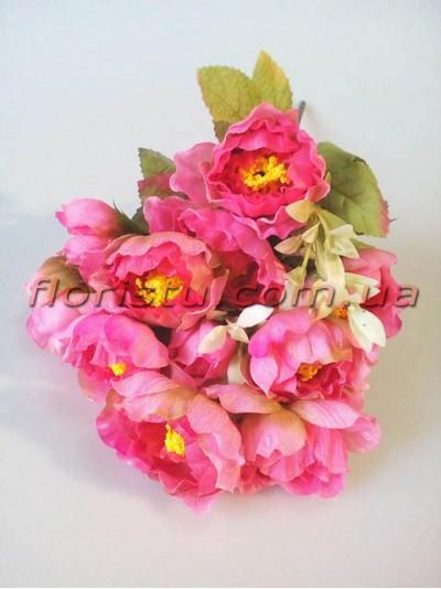Камелии Винтаж мини розовые 11 гол. 5 см