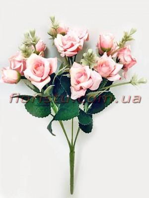 Букет роз Катарина нежно-розовый 30 см