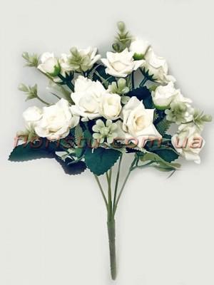 Букет роз Катарина нежно-кремовый 30 см