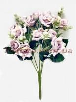 Букет роз Катарина нежно-сиреневый 30 см