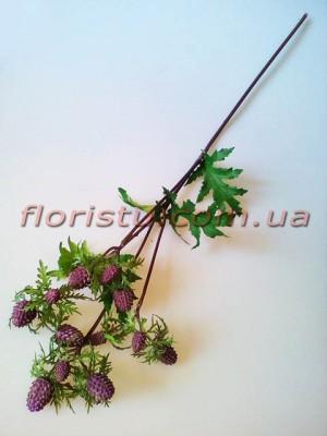 Рубус искусственный премиум Бордово-фиолетовый 57 см