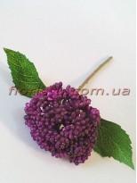 Ягоды бузины бордово-фиолетовые премиум ветка 37 см
