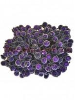 Ягоды в сахаре искусственные Фиолетовые 10 шт.